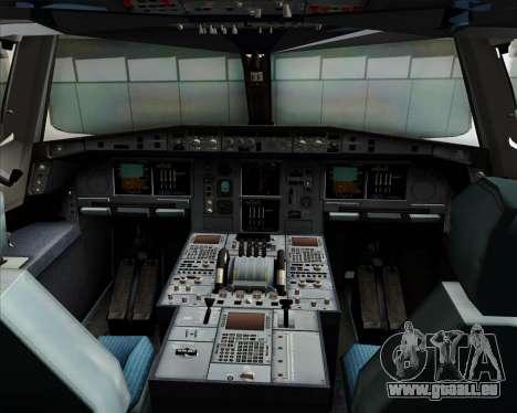Airbus A380-800 Sichuan Airlines für GTA San Andreas Innen