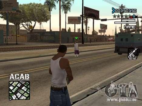 C-HUD by Edya pour GTA San Andreas