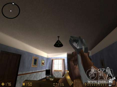 Counter-Strike HUD für GTA San Andreas her Screenshot