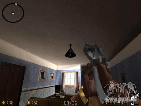 Counter-Strike HUD pour GTA San Andreas quatrième écran