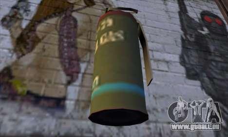 Smoke Grenade from GTA 5 pour GTA San Andreas troisième écran