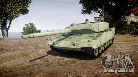 Leopard 2A7 AT Green pour GTA 4