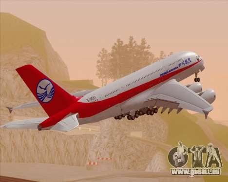 Airbus A380-800 Sichuan Airlines für GTA San Andreas