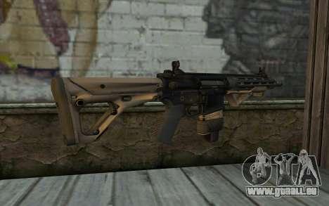 SIG-556 pour GTA San Andreas deuxième écran