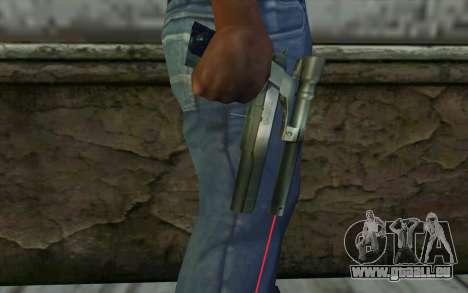 AMT Hardballer Longslide mit Laser-Augen für GTA San Andreas dritten Screenshot