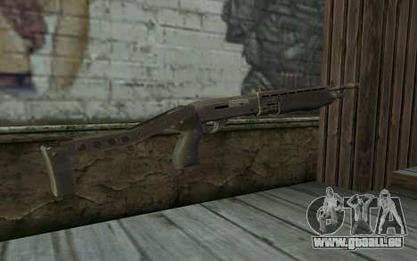Le Fusil De Chasse (Renegade X Noir De L'Aube) pour GTA San Andreas deuxième écran