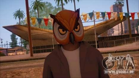 GTA 5 Online Skin 6 pour GTA San Andreas troisième écran