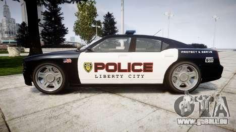 Bravado Buffalo Police LCPD für GTA 4 linke Ansicht
