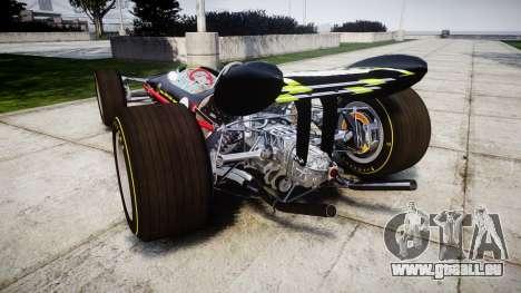 Lotus 49 1967 black für GTA 4 hinten links Ansicht