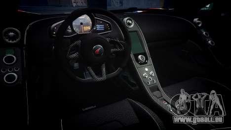 McLaren 650S Spider 2014 [EPM] v2.0 UK pour GTA 4 est une vue de l'intérieur