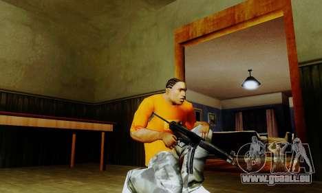 Weapon pack from CODMW2 für GTA San Andreas dritten Screenshot
