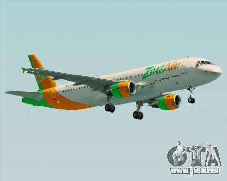 Airbus A320-200 Zest Air für GTA San Andreas linke Ansicht