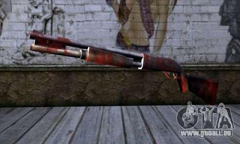 Chromegun v2 Apocalypse de coloriage pour GTA San Andreas