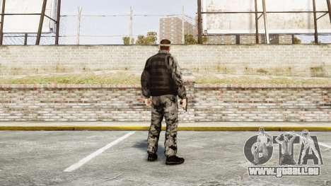 Medal of Honor LTD Camo2 pour GTA 4 troisième écran