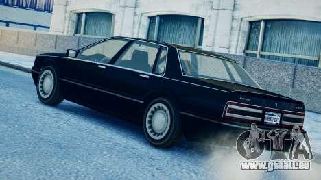 Primo Continental für GTA 4 linke Ansicht
