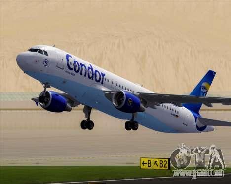 Airbus A320-200 Condor für GTA San Andreas Räder