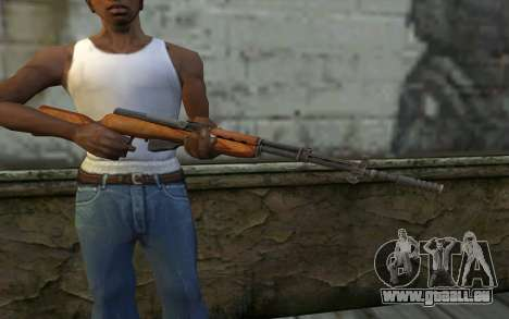 Simonow Self-Loading-Karabiner für GTA San Andreas dritten Screenshot