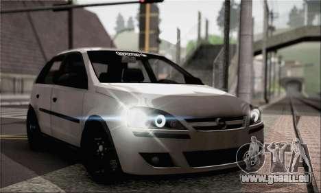 Opel Corsa 5-Doors pour GTA San Andreas