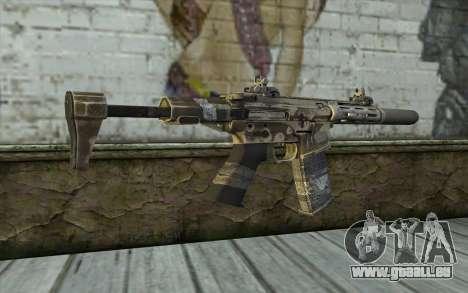 HoneyBadger from CoD Ghosts für GTA San Andreas zweiten Screenshot