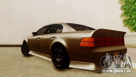 GTA 5 Intruder Tuning Bumpers für GTA San Andreas linke Ansicht