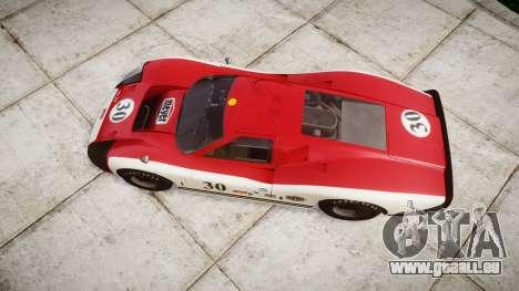 Ford GT40 Mark IV 1967 PJ Meyer 30 pour GTA 4 est un droit