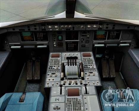 Airbus A380-800F Lufthansa Cargo für GTA San Andreas Innen