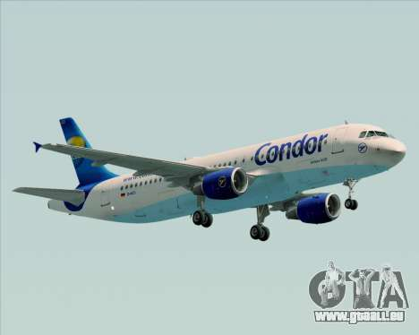 Airbus A320-200 Condor für GTA San Andreas linke Ansicht