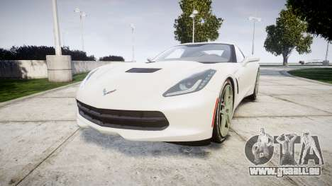 Chevrolet Corvette C7 Stingray 2014 v2.0 TireYA1 für GTA 4