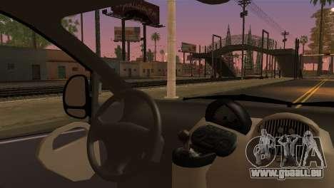 Fiat Multipla Black Bumpers pour GTA San Andreas sur la vue arrière gauche