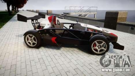 Ariel Atom V8 2010 [RIV] v1.1 Garton Racing Team für GTA 4 linke Ansicht