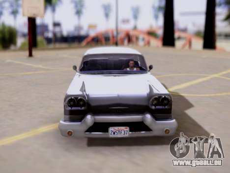 DeClasse Tornado GTA V pour GTA San Andreas vue de droite