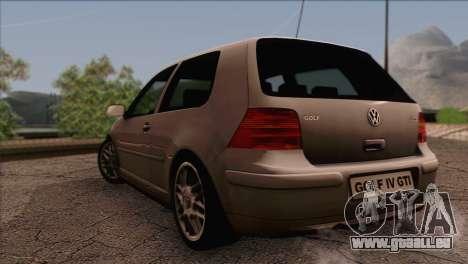 Volkswagen Golf Mk4 GTI für GTA San Andreas linke Ansicht