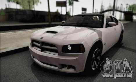 Dodge Charger SuperBee pour GTA San Andreas vue de côté
