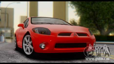 Mitsubishi Eclipse 2006 pour GTA San Andreas vue de droite