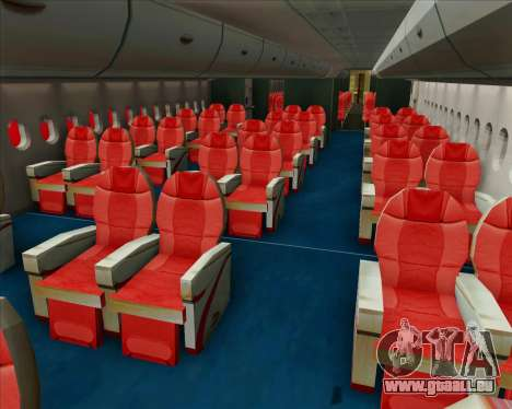 Airbus A380-800 Sichuan Airlines pour GTA San Andreas