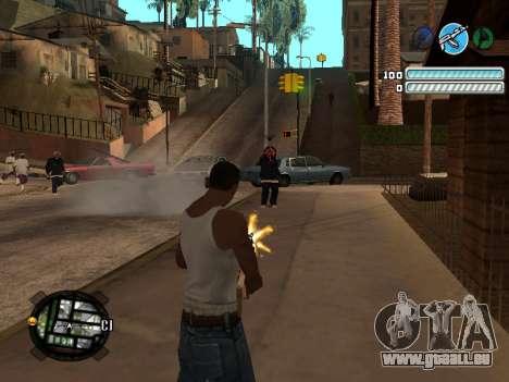 Respect C-HUD pour GTA San Andreas troisième écran