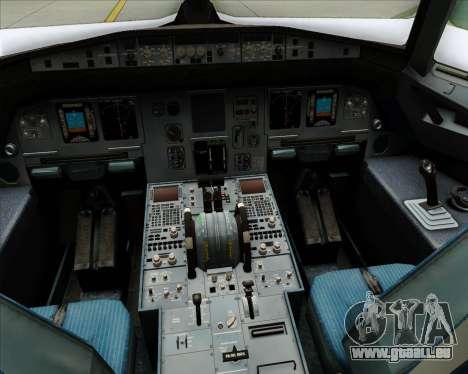 Airbus A320-200 Condor für GTA San Andreas Innen