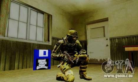 Weapon pack from CODMW2 für GTA San Andreas neunten Screenshot