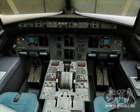 Airbus A320-200 JetBlue Airways pour GTA San Andreas salon