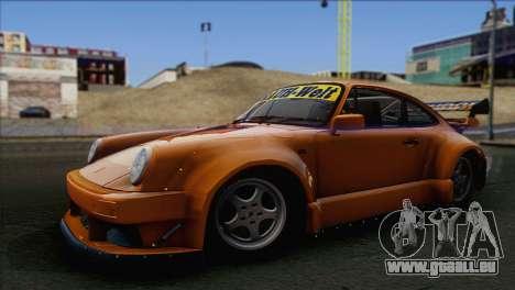 Porsche 911 Turbo 1982 Tunable KIT C PJ für GTA San Andreas Innenansicht