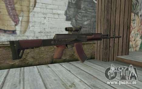 AEK from Battlefield 4 für GTA San Andreas zweiten Screenshot