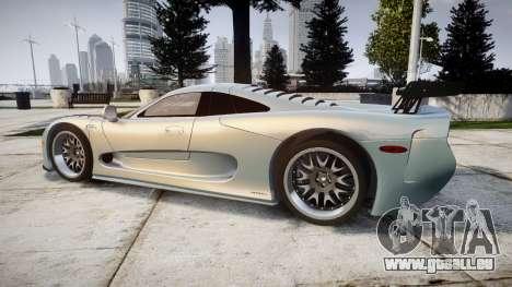 Mosler MT900 für GTA 4 linke Ansicht