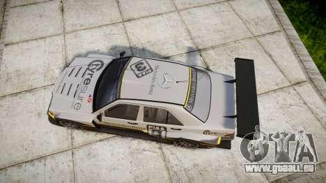 Mercedes-Benz 190E Evo II GT3 PJ 4 für GTA 4 rechte Ansicht