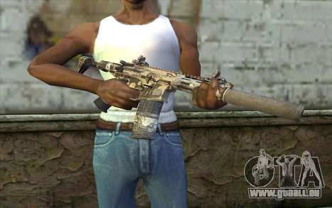 HoneyBadger from CoD Ghosts für GTA San Andreas dritten Screenshot
