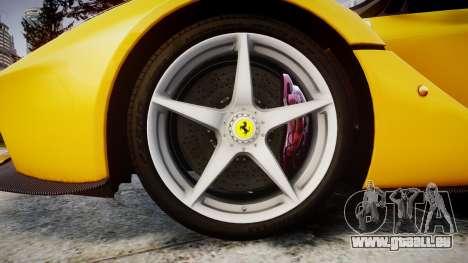 Ferrari LaFerrari [EPM] v1.2 pour GTA 4 Vue arrière