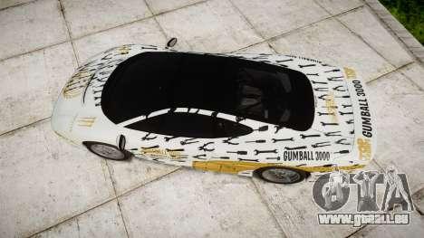 Jaguar XJ220 1992 [EPM] Gumball 3000 pour GTA 4 est un droit