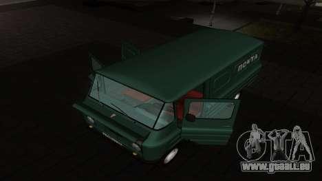 Zuk A06 pour GTA San Andreas sur la vue arrière gauche