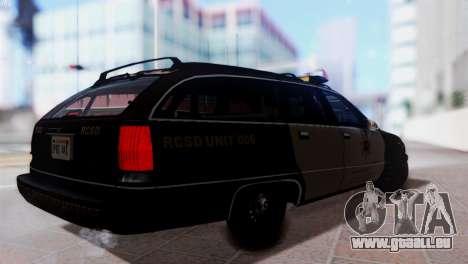 SD Chevy Caprice Station Wagon 1993 (1996) pour GTA San Andreas laissé vue