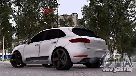 Porsche Macan pour GTA San Andreas laissé vue