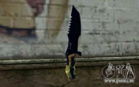 Knife from COD: Ghosts v1 pour GTA San Andreas deuxième écran